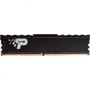 Image for product 'Patriot PSP44G240081H1 LONG-DIMM SL PREMIUM [4GB, DDR4 UDIMM, 2400MHz, CL17, 1.2V, HEAT SHIELD]'