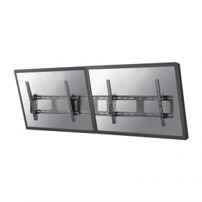 "Image for product 'Newstar NS-WMB200BLACK Menu board wall mount [1x50 kg, 40- 52"", 200x200/ 600x400 mm, Black]'"