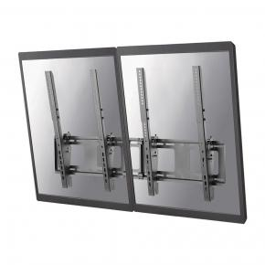 "Image for product 'Newstar NS-WMB200PBLACK Menu board wall mount [1x50 kg 40-52"", 200x200/ 400x600 mm, Black]'"