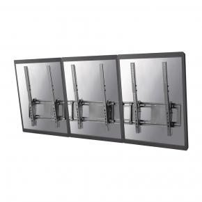 """Image for product 'Newstar NS-WMB300PBLACK Menu board wall mount [1x 50kg, 40 - 52"""", 200x200/ 400x600 mm, Black]'"""