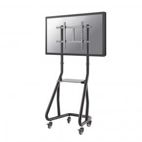 "Image for product 'Newstar NS-M3600BLACK Flat screen TV floor stand [1x 80 kg 37 - 80"", 200x200/ 600x400 mm, Black]'"