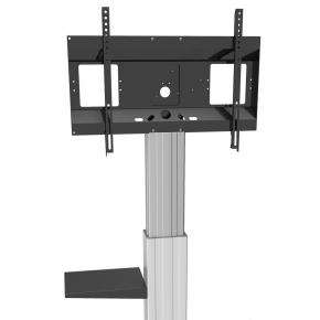 Image for product 'Newstar PLASMA-M2SIDESHELF flat screen stand, shelf, Notebook stand, Black, 3 kg, 295 mm, 450 mm, 1'