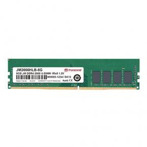 Image for product 'Transcend JM2666HLH-4G JetRam [4GB, DDR4-2666, U-DIMM, 1Rx8/ 512Mx8, CL19, 1.2V]'