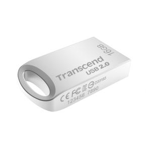 Image for product 'Transcend TS4GJF510S JetFlash®510 [4GB, USB2.0 Type-A, Silver]'