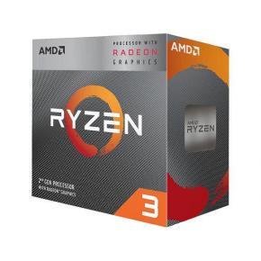 Image for product 'AMD YD3200C5FHBOX Ryzen™ 3 3200G w/ Radeon™ RX Vega 8 Graphics [AM4, 3.6/4.0Ghz Quad, 65W]'