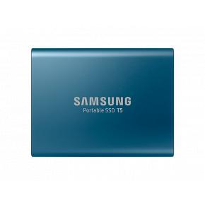 Image for product 'Samsung MU-PA500B/EU T5 SSD [500 GB, USB Type-A/ USB3.1 Gen2, SATA3, 540 MB/s, Blue]'