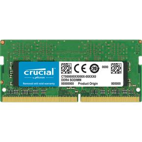 Image for product 'Crucial CT4G4SFS824A SO-DIMM [4GB, DDR4, 2400Mhz, CL17, Single Ranked, Unbuffered, 1.2v]'