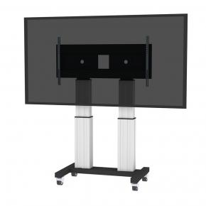 """Image for product 'Newstar PLASMA-M2600SILVER Flat screen TV floor stand [250 kg, 70 - 120"""", 400x200/ 1200x600 mm]'"""