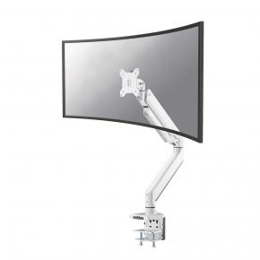 "Image for product 'Newstar NM-D775WHITE Flat screen desk mount TV Clamp [16 kg, 10 - 49"", 100x100mm, White]'"