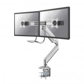 """Image for product 'Newstar NM-D775DXSILVER Flat screen/ TV desk mount Clamp [8 kg, 10- 32"""", 100x100mm, Silver]'"""