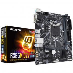 Image for product 'Gigabyte B365M D2V B365M D2V [LGA1151, Intel B365, 2x DIMM DDR4-2666, 32GB, PCIe3x4, USB3.1, M.2]'