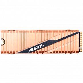 Image for product 'Gigabyte GP-ASM2NE6100TTTD AORUS SSD [1 TB, M.2 NVMe Gen4, 3D TLC, 5000/ 4400MB/s, 750K/700K IOPS]'