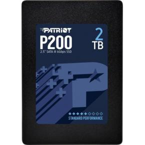 "Image for product 'Patriot P200S2TB25 P200 SSD [2TB, 2.5"", SATA3 6Gbps, 530/ 460MB/s, 90K/ 80K IOPS, Black]'"
