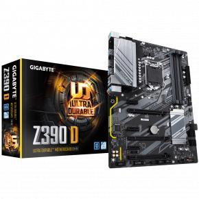 Gigabyte Z390 D [ATX, LGA1151, Intel®, 4x DDR4 2133-4266MHz DIMM, USB3.1 Gen1, M.2, GBLAN]