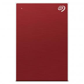 Image for product 'Seagate STHN1000403 Backup Plus Slim HDD [1 TB, Extern, USB3.2 Gen 1 Type-A, Red]'