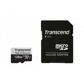 Image for product 'Transcend TS128GUSD350V 350V microSDXC [128GB, 3D NAND, UHS-I U1, Class10, 95/45 MB/s]'