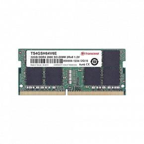Image for product 'Transcend TS256MSH64V6X [2GB, SO-DIMM, DDR4-2666, 256Mx16, 1Rx16, 1.2v]'