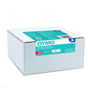 Image for product 'Dymo 2093096 D1 Standard Tape Value Pack 10 Pcs [9MMX7M, BK/WHI]'