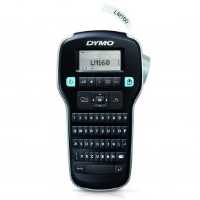 Image for product 'Dymo S0946320 LABELMANAGER 160P QWERTY [Thermal transfer, 180 x 180 DPI, 12 mm/s, LCD, Blk/Silver]'