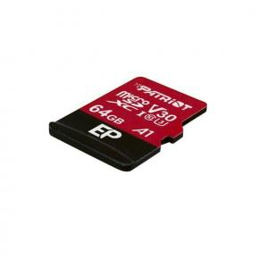 Image for product 'Patriot PEF64GEP31MCXEP Series HIGH PERFORMANCE MICRO SDXC, 64GB, 4K, V30 A1, 100/ 80MB/s'