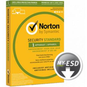 Image for product 'Norton / Symantec 21384855 Norton Security Standaard 1-Device 3 jaar (Non-subscription)'
