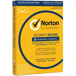 Image for product 'Norton / Symantec 21384846 Security Deluxe 5-Devices 2jaar (Non-subscription)'