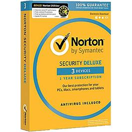Image for product 'Norton / Symantec DSD190034 Security Deluxe 3-Devices 3jaar (Non-subscription)'