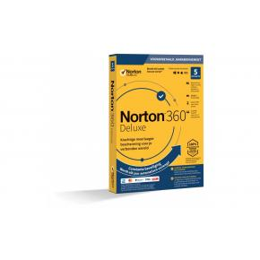 Image for product 'Norton / Symantec 21395465 Norton 360 Deluxe 5-Devices 1jaar (Non-subscription) (digital license)'