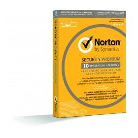 Image for product 'Norton / Symantec 21397287 Norton 360 Premium 10-Devices 1jaar (Non-subscription) (digital license)'