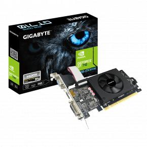Image for product 'Gigabyte GV-N710D5-2GIL GeForce GT 710 [PCIe 2.0 x8, 2 GB, GDDR5, 64 bit, 300W]'