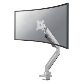 "Image for product 'Neomounts by Newstar NeoMounts NM-D775SILVERPLUS Flat Screen Desk mount 1x 10 - 49"", 18kg, desk clam'"