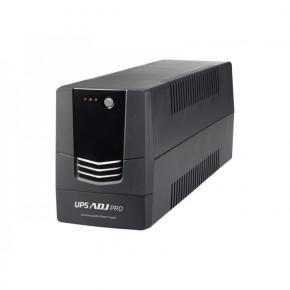 Image for product 'ADJ 650-01600 1600VA UPS Pro Series [4+2 outputs, 1600VA, 1120W, Black-out & Lightning Protection]'