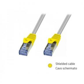 Image for product 'ADJ 310-00059 Networking Cable [RJ-45, S/FTP, Cat. 6, 1M, Beige, BLISTER]'