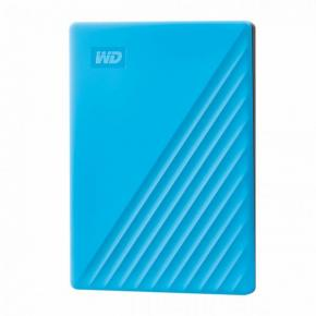Image for product 'Western Digital WDBYVG0020BBL-WESN My Passport External HDD [2TB, USB 3.2 Gen 1, Sky Blue]'