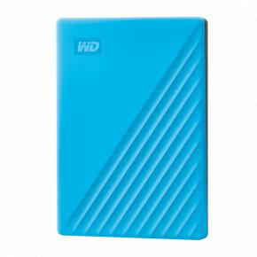 Image for product 'Western Digital WDBPKJ0040BBL-WESN My Passport External HDD [4TB, USB 3.2 Gen 1, Blue]'