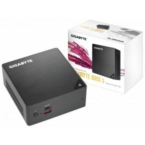 Image for product 'Gigabyte GB-BRi7H-8550 Mini PC Barebone [UCFF, Intel i7 8550U 4c, 2x DDR4 SO-DIMM, USB3.2, WiFi, BT]'