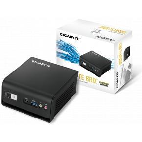 Image for product 'Gigabyte GB-BLCE-4105R-BWUP BRIX Mini PC Barebone [SFF, Intel J4105 Quad, 1x DDR4 SO-DIMM, BT4/WiFi]'