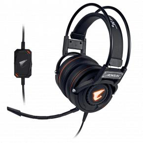 Image for product 'Gigabyte GP-AORUS H5 AORUS H5 Headset [Head-band, Gaming, Binaural, 20Khz, 100 dB, 32 O, 3 m, Black'
