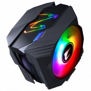 Image for product 'Gigabyte GP-ATC800 ATC800 Processor Cooler [Intel & AMD, Duo fan, 16-31 dB,600-2000 RPM, RGB LED]'