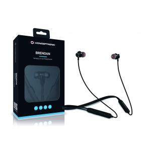 Image for product 'Conceptronic BRENDAN01B BRENDAN Wireless Bluetooth In-ear Headphones [BT, Headset, In-ear, Binaural]'
