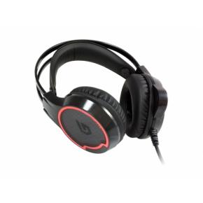 Image for product 'Conceptronic ATHAN01B ATHAN U1, 7.1-Ch Surround Sound Gaming Headset, USB, Head-band, 2m, Black'