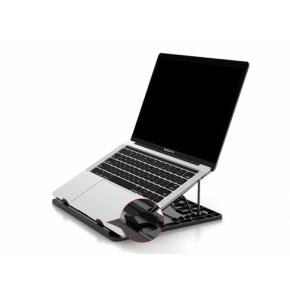 "Image for product 'Conceptronic THANA03B THANA ERGO S Laptop Cooling Stand [15.6"", 50 kg, Anti-Slip]'"