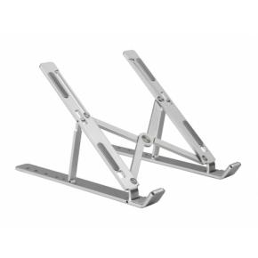 """Image for product 'Conceptronic THANA04S THANA ERGO F Foldable Aluminum Laptop Cooling Stand [15.6"""", 50kg max, Silver]'"""