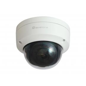 Image for product 'LevelOne FCS-3403 IP security camera [Wired, Dome, Ceiling, PoE, IR LED, H.265, Indoor & outdoor]'