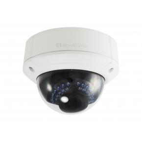 Image for product 'Levelone FCS-3411 GEMINI Zoom Dome IP Network Camera [4-Megapixel, H.265,IR LEDs, 802.3af PoE, 4.3X]'
