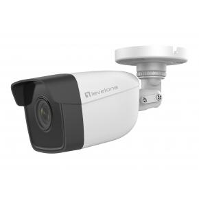 Image for product 'Levelone FCS-5201 GEMINI Fixed IP Network Camera [2-Megapixel, H.265, 802.3af PoE, IR LEDs]'