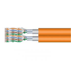 Image for product 'Equip 187332 Cat.7 S/FTP Duplex Installation Cable [1000 m, LSZH, Solid Copper, Orange]'