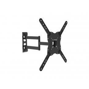 "Image for product 'Equip 650407 Articulating TV Wall Mount Bracket [30 kg, 13"" - 55"", 75x75 mm, 400x400 mm, Black]'"