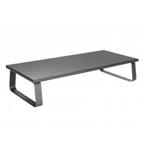 Image for product 'Equip 650880 Desktop Monitor Stand [20 kg, Non-skid Silicone Pads, Black]'