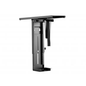 Image for product 'Equip 650892 CPU Under Desk CPU holder/ Mount Bracket [10 kg, 365 - 596 mm, Steel, 180°, Black]'